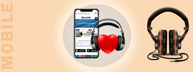 Listen On Mobile Page